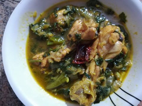 chicken spinach
