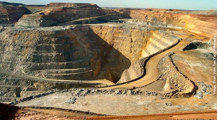 quarry gold mine